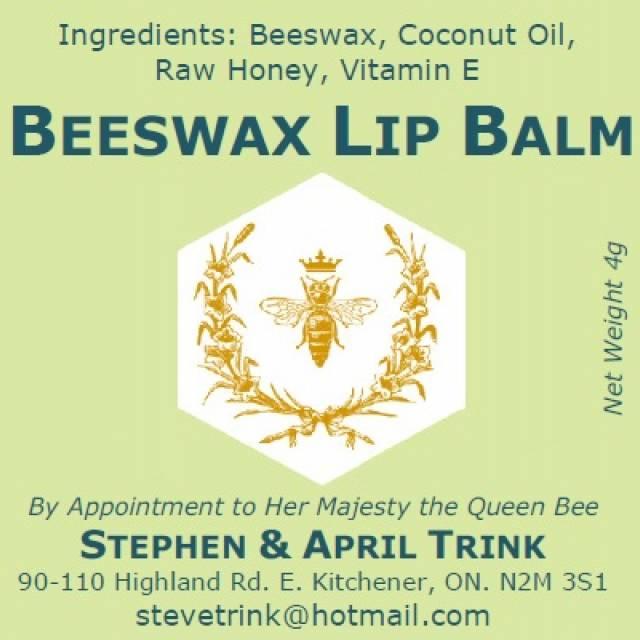 Beeswax Honey Lip Balm