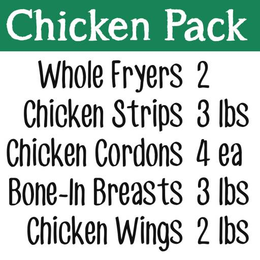 Chicken Freezer Pack