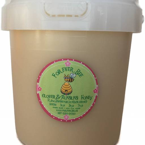 Raw, creamed Honey 3kg