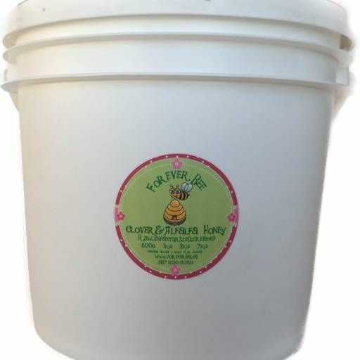 Raw, Creamed Honey 7kg