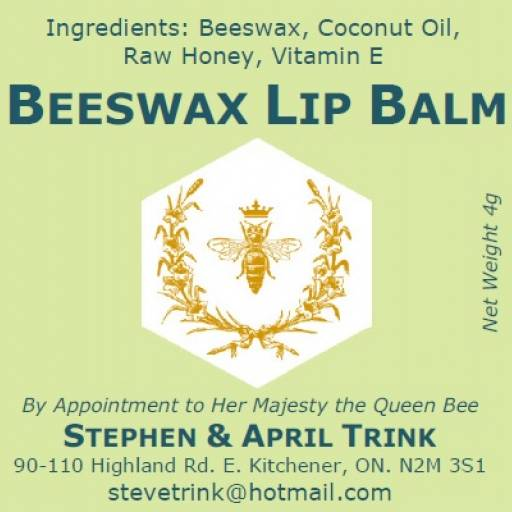Beeswax Honey Lip Balm